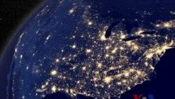 2012年太空捕捉到的地球夜空景色