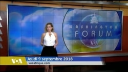 Washington Forum du 14 septembre 2018: Fermeture de la representation palestinienne à Washington