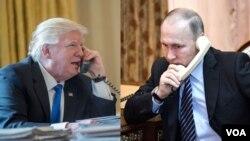Trump da Putin
