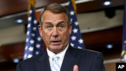 FILE - House Speaker John Boehner (R- Ohio)