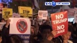 Manchetes Mundo 7 Novembro 2017: Trump recebido com protestos na Coreia do Sul