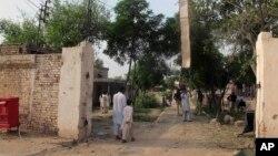 30일 탈레반의 공격을 받은 파키스탄 북서부의 교도소.