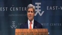 克里:美國致力於實施轉向亞洲政策