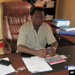 Miguel Somaquissenje, dirigente do MPLA na Caala