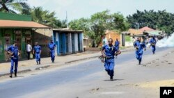 Hali ilivyo katika mitaa ya Bujumbura kufuatia ghasia za kisiasa zinazoendelea nchini Burundi