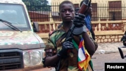 Un seleka à Bangui