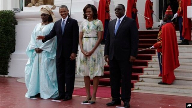 Президент Обама в Сенегалі