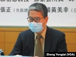 台灣智庫諮詢委員賴怡忠(美國之音張永泰拍攝)