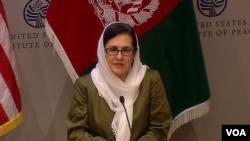 بانوی اول افغانستان در انستیتوت صلح واشنگتن دی سی