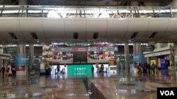 马来西亚首都吉隆坡中央车站。(美国之音朱诺拍摄,2016年3月13日)