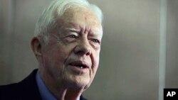 အေမရိကန္သမၼတေဟာင္း Jimmy Carter။