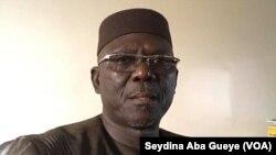 Moustapha Diakhaté, ex-chef de cabinet du PR Macky Sall, à Dakar, le 26 janvier 2020. (VOA/Seydina Aba Gueye)
