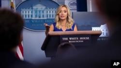 Пресс-секретарь Белого дома Кейли Макэнани (архивное фото)