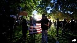 აქცია ვაშინგტონში, ლაფაეტის პარკში