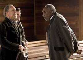 Left to Right: Robert Duvall as Felix Bush, Lucas Black as Buddy and Bill Cobbs as Rev. Charlie Jackson.