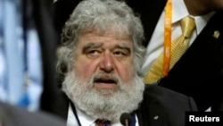 FILE - FIFA executive member Chuck Blazer attends the 61st FIFA congress at the Hallenstadion in Zurich June 1, 2011.