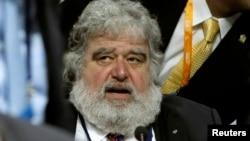 Anggota Aksekutif FIFA, Chuck Blazer saat menghadiri Kongres FIFA ke-61 di Hallenstadion, Zurich, 1 JUni 2011 (Foto: dok).