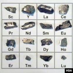 Tiongkok digugat melalui WTO karena pembatasan ekspor unsur logam 'Rare-Earth' ini (Foto: dok).
