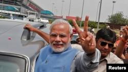 Nhà lãnh đạo mới theo chủ nghĩa dân tộc, Narendra Modi của Đảng Bharatiya Janata BJP.