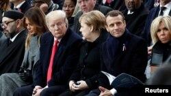 Svjetski lideri u Parizu na ceremoniji obilježavanja stogodišnjice završetka Prvog svjetskog rata.