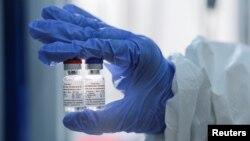 Mẫu vaccine Spunik V do Quỹ đầu tư trực tiếp của Nga công bố.