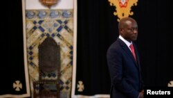 Le président bissau-guinéen, José Mario Vaz