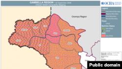 Gambella, wilayah barat Ethiopia terletak dengan perbatasan dengan Sudan selatan (foto: ilustrasi).