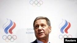 Le Directeur du Comité olympique russe Alexander Zhukov, à Moscou, le 18 novembre 2015.