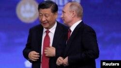 Kineski predsednik Ši Đinping i ruski predsednik Vladimir Putin