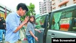 朱凯迪近日外出谢票或出席电台节目都有警员护送(苹果日报图片)