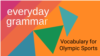 Vocabulary for New Sports at the Tokyo Olympics