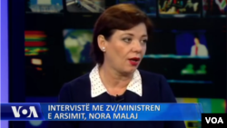Nora Malaj, Albanian deputy minister of education