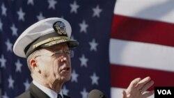Ketua Gabungan Kepala-Kepala Staf AS, Laksamana Mike Mullen.