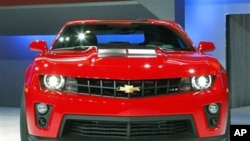美国通用汽车公司的雪弗莱ZL1(资料照)