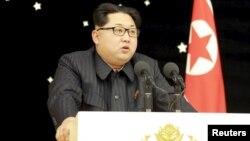 کیم جونگ اون رهبر کره شمالی