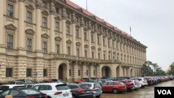 资料照片:位于布拉格的捷克共和国外交部大楼。