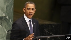 Tổng thống Obama phát biểu trước phiên họp thường niên lần thứ 67 của Đại hội đồng Liên hiệp quốc, ngày 25/9/2012