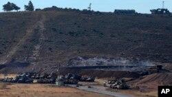 عکس آرشیوی از استقرار نیروهای ارتش ترکیه در امتداد مرزهای مشترک با سوریه