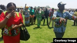 War veterans leader Jabulani Sibanda is one of those being targeted for removal from his position for allegedly failing to endorse First Lady Grace Mugabe to lead the Women's League. (File Photo, Courtesy Image)