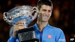 Novak Djokovic, Melbourne, Australie, 1er février 2015