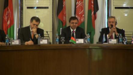د افغان حکومت او نړیوالې ټولنې ترمنځ د همغږۍ او څارنې ګډ بورډ غونډه