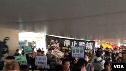 香港团体和政党游行呼吁特首下台重启政改