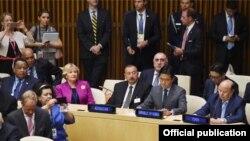 Ilham Əliyev BMT-nin Baş Assambleyasında