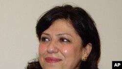 سۆزان شههاب ، سهرۆکی فراکسیۆنی کوردستانی له پهرلهمانی ههرێمی کوردستانی عێراق، (ئهرشیفی وێنه)