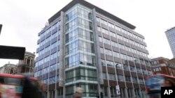 Kantor perusahaan Cambridge Analytica di London yang ditutup bulan Mei lalu (foto: dok).