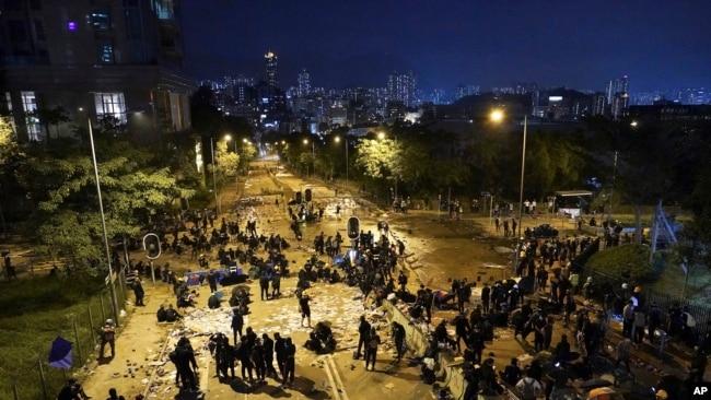 反送中抗议运动后 香港城市大学募款困难