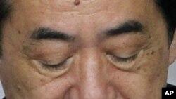 নাওটো কান জাপানের ডেমোক্র্যাটিক পার্টির প্রেসিডেন্টের পদত্যাগ করার কথা ঘোষণা করেছেন