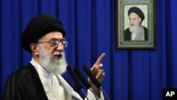 아야톨라 알리 하메네이 이란 최고지도자 (자료사진)