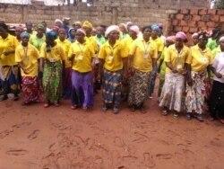 Libertos activistas do Movimento Protectorado da Lunda Tchokwe no Cafunfo - 1:24