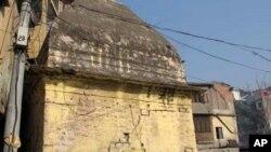مظفر آباد میں قائم ایک مندر